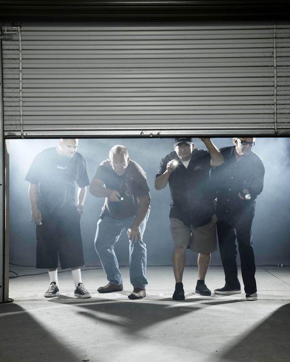 (1. Staffel) - (v.l.n.r.) Jarrod Schulz; Darrell Sheets; Dave Hester; Barry Weiss - Bildquelle: 2010 AETN