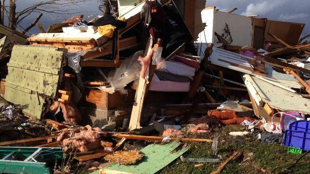 Im Auge des Tornados - Im November 2013 überrascht ein EF-4 Tornado die Klein...