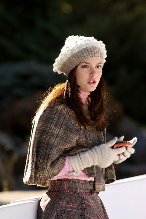 Weihnachten steht bevor und Blair (Leighton Meester) wird von ihrem Vater überrascht, der plötzlich in der Stadt auftaucht ... - Bildquelle: Warner Brothers