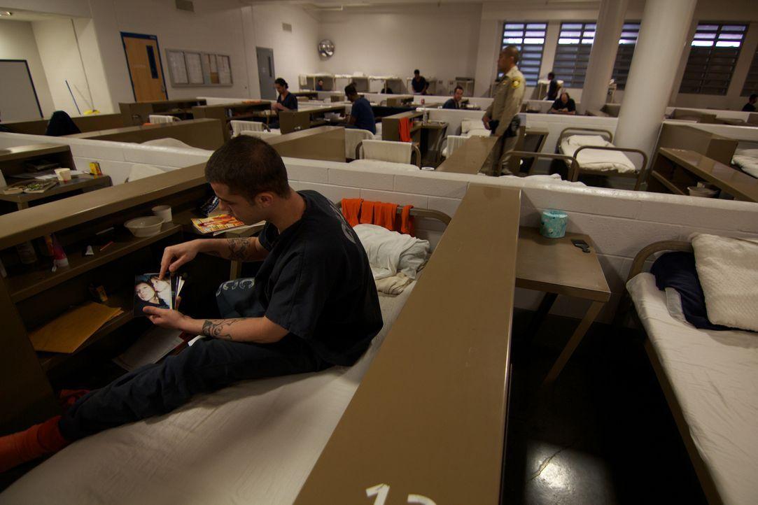 In den Gemeinschaftsschlafsälen des Clark County Detention Centers haben die Insassen kaum Privatsphäre und müssen auf engstem Raum zusammenleben -... - Bildquelle: Justin Weinrich National Geographic Channels/ Part2 Pictures