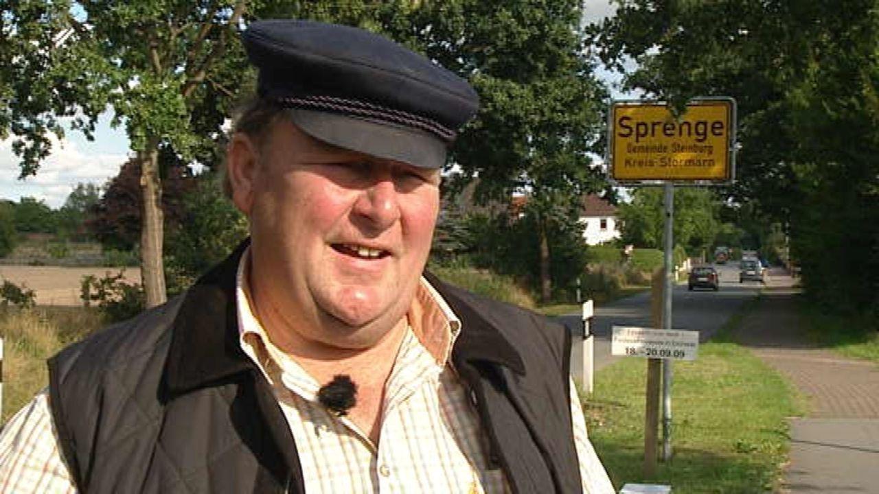 Fast 50 000 Dörfer und Gemeinden gibt es in Deutschland. Wir haben die Menschen in Steinburg kennen gelernt. Steinburg liegt nördlich von Hamburg,... - Bildquelle: SAT.1
