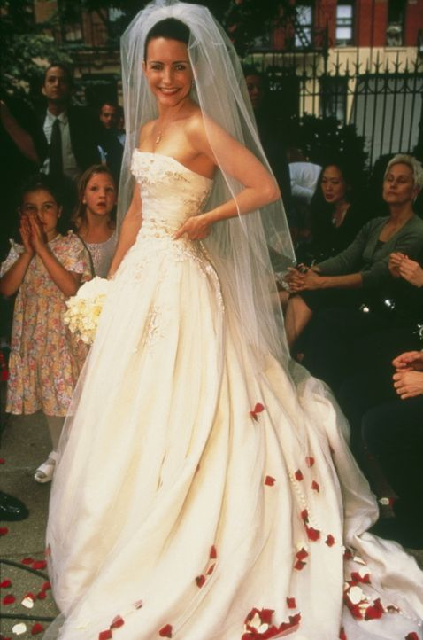 Eine bezaubernde Braut: Charlottes (Kristin Davis) großer Tag ist gekommen, von dem sie ihr Leben lang geträumt hat. - Bildquelle: Paramount Pictures