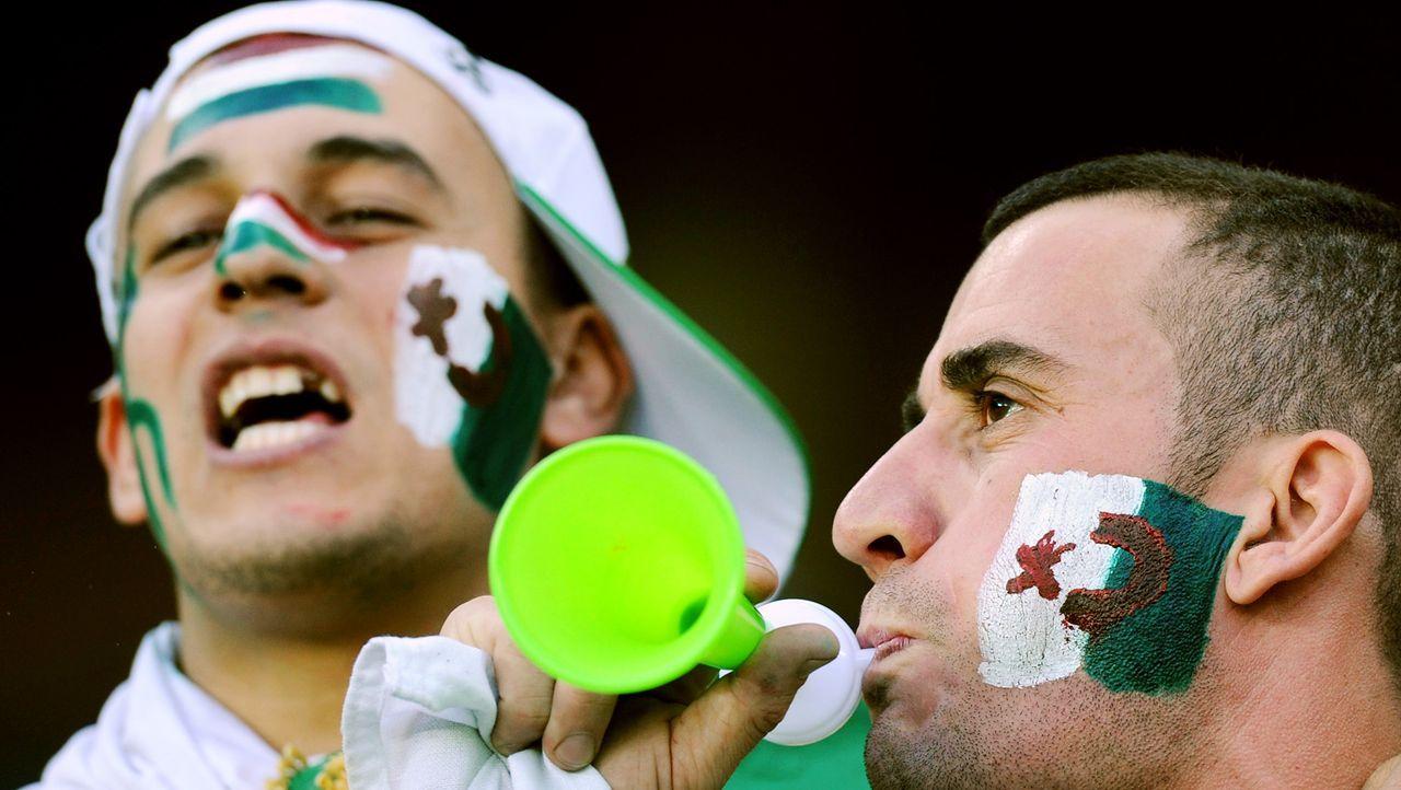 Die auffallendsten Algerien Fans - Bildquelle: AFP