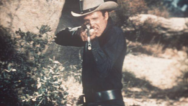 Der üble Gauner Vince Dagen (John Ericson) kennt kein Erbarmen ... © Paramoun...