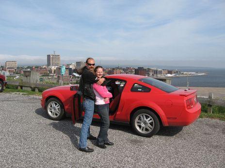 Koffer zu und weg - Sonja (42) und Sven (44) Schrick aus Berlin wollen in New...