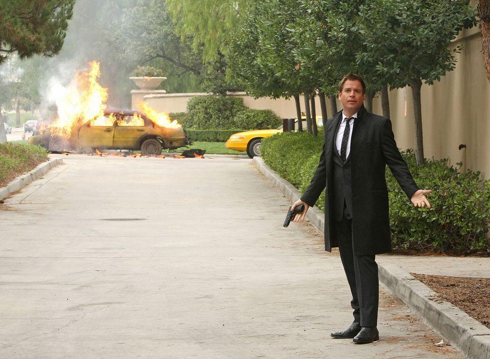 Versucht, einen neuen Fall zu lösen: DiNozzo (Michael Weatherly) ... - Bildquelle: CBS Television