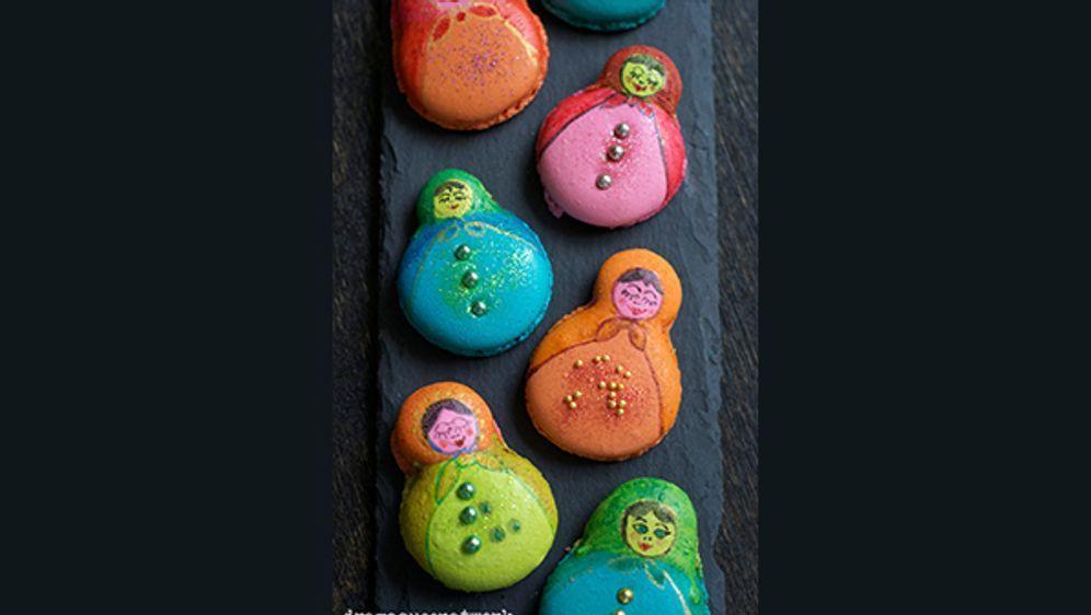 Matroschka-Macarons: Das Rezept von dramaqueenatwork - Bildquelle: dramaqueenatwork