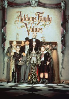 Die Addams Family in verrückter Tradition - Die Addams Family (v.l.n.r.) : Fe...