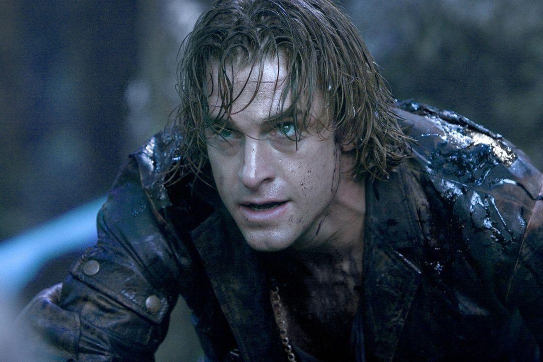 Hadert mit seinem Schicksal: Werwolf Michael (Scott Speedman) ... - Bildquelle: Sony Pictures Television International. All Rights Reserved.