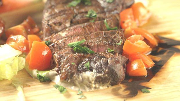 New York Strip Steaks
