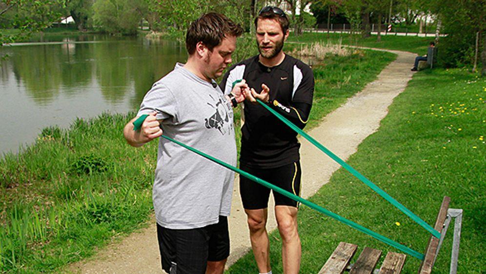 Warum läuft Tim den Marathon?