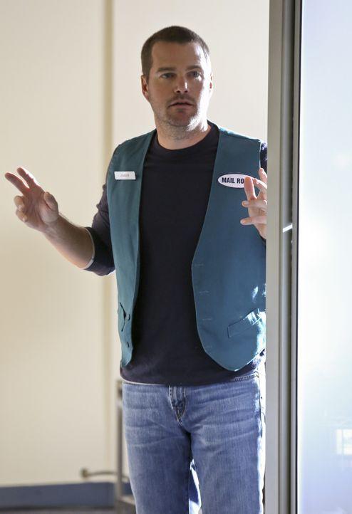 Ermittelt undercover in einem neuen Fall und wird dabei zu einer Geisel: Callen (Chris O'Donnell) ... - Bildquelle: CBS Studios Inc. All Rights Reserved.