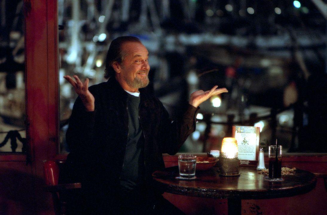 Kein geringerer als der augenscheinlich völlig verrückte Dr. Buddy Rydell (Jack Nicholson) soll Dave die Vorzüge der Sanftmütigkeit vermitteln ... - Bildquelle: 2003 Sony Pictures Television International. All Rights Reserved.