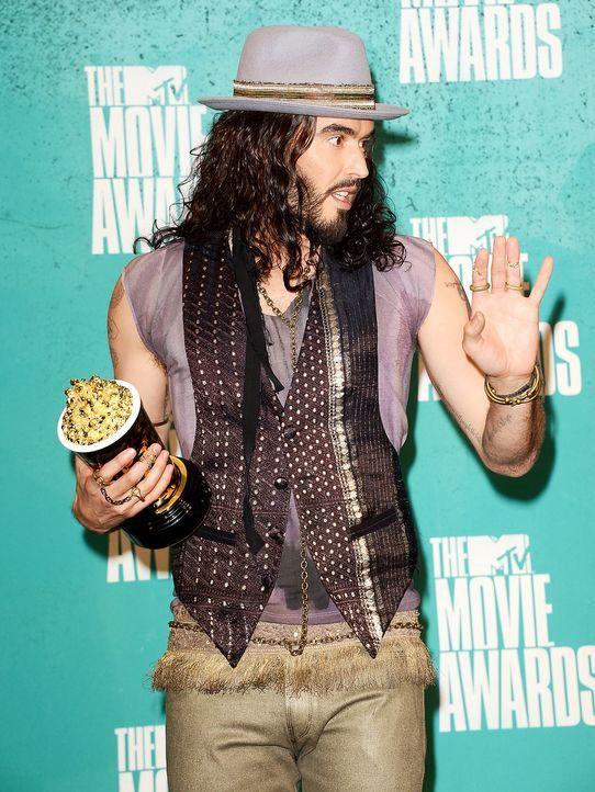 mtv-movie-awards-Russell-Brand-12-06-03-getty-AFP - Bildquelle: getty-AFP