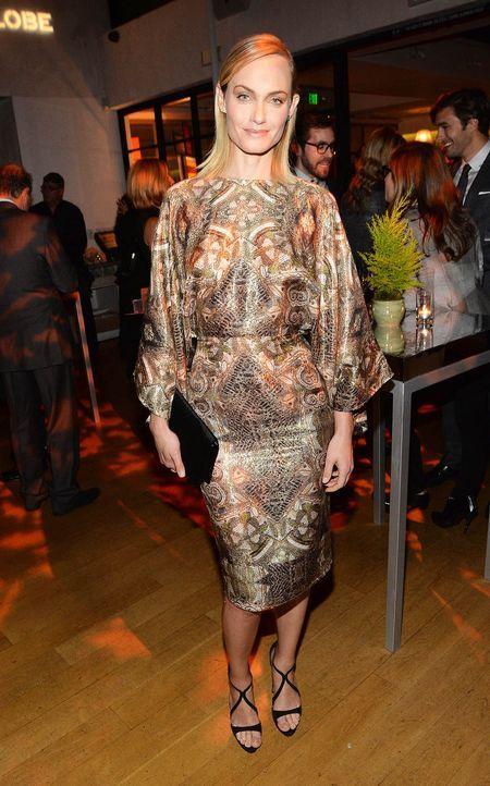 Miss-Golden-Globe-Amber-Valletta-13-11-21-getty-AFP - Bildquelle: getty-AFP