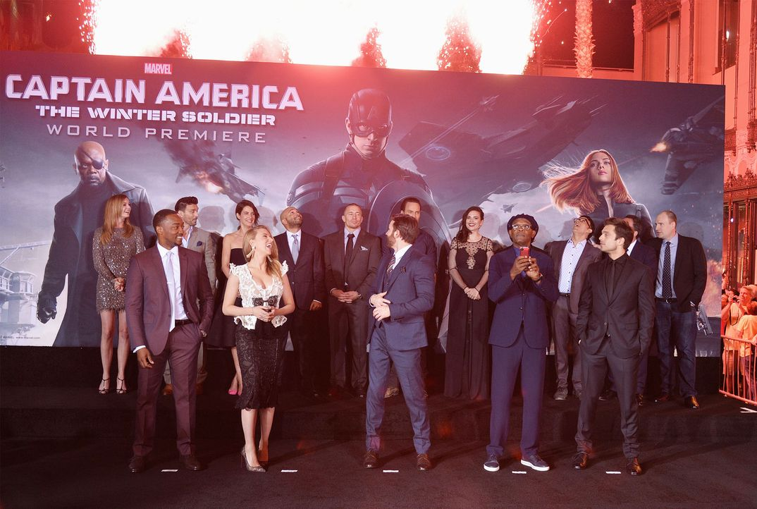 Captain-America-Premiere-LA-14-03-14-getty-AFP - Bildquelle: getty-AFP