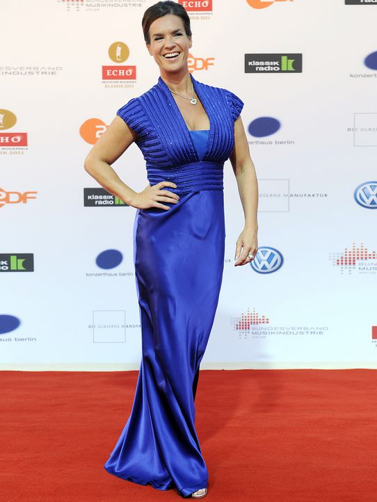Kati-Witt-Verleihung-Echo-Klassik-11-10-02-dpa - Bildquelle: picture alliance / dpa, Rainer Jensen