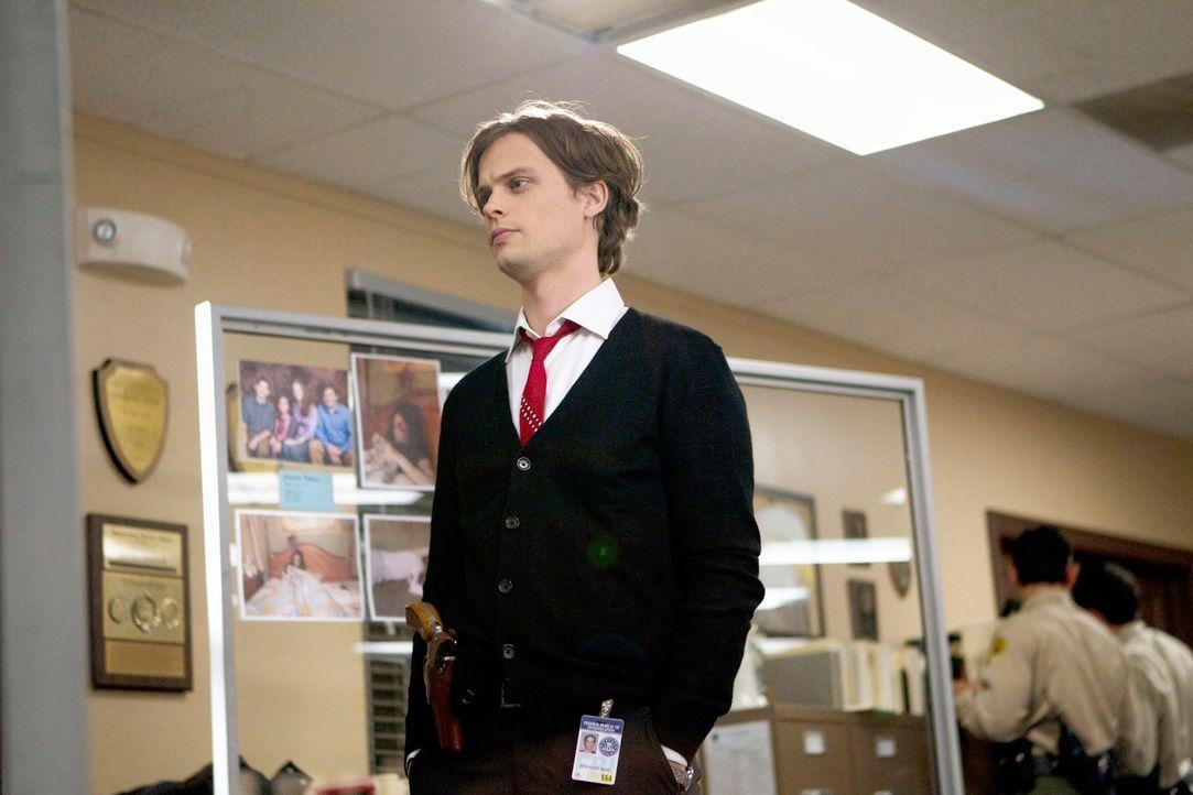 Wird gemeinsam mit seinen Kollegen nach San Bernardino gerufen, wo die gesamte Familie Lewis nachts in ihrem Haus ermordet wurde: Reid (Matthew Gray... - Bildquelle: ABC Studios
