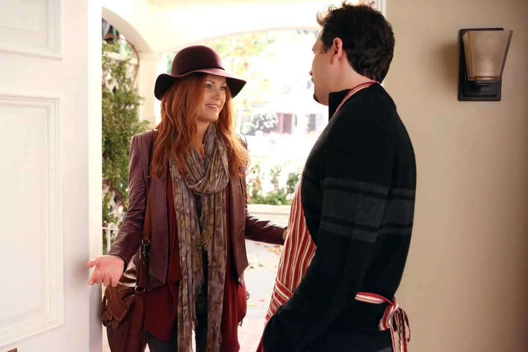 George (Jeremy Sisto, r.) möchte, dass seine Tochter glücklich ist, aber Alex' (Malin Akerman, l.) Rückkehr nach so vielen Jahren ist für ihn nur sc... - Bildquelle: Warner Brothers