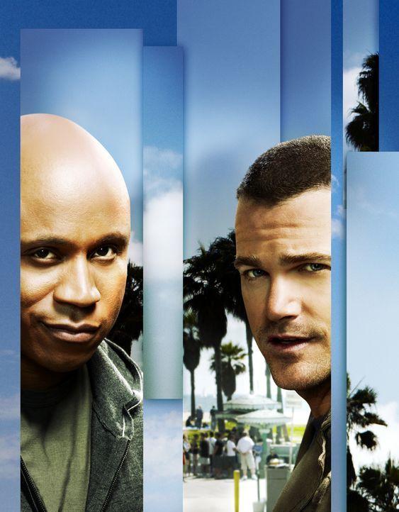 (3. Staffel) - Ermitteln Undercover im sonnigen Kalifornien um die nationale Sicherheit zu wahren: Special Agent G. Callen (Chris O'Donnell, r.) und... - Bildquelle: CBS Studios Inc. All Rights Reserved.