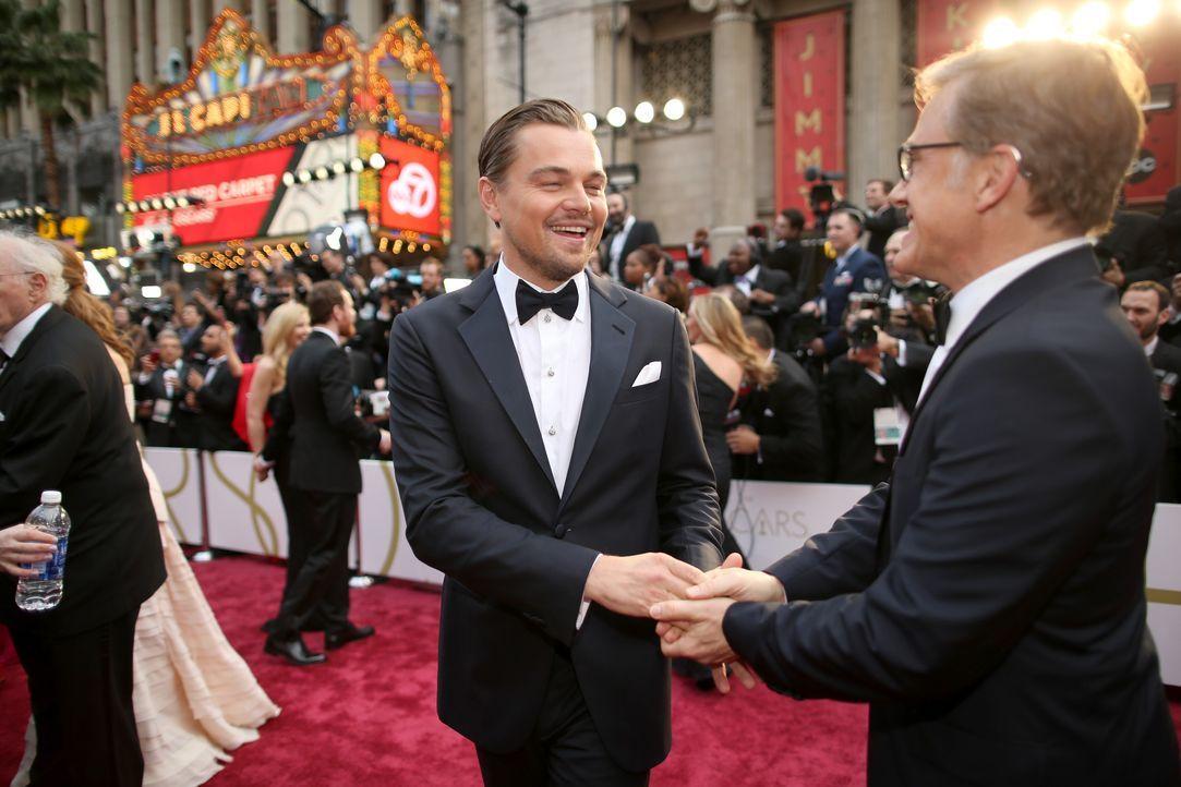 Leonardo DiCaprio und Christoph Waltz - Bildquelle: getty AFP