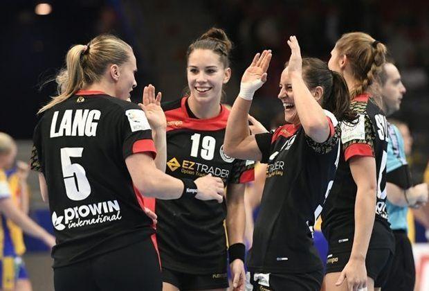 Losglück für die deutschen Handballerinnen