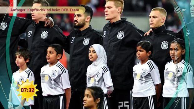 Bildergebnis für Kopftuch beim DFB-Team