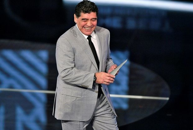 Diego Maradona wird Ehrenbürger von Neapel