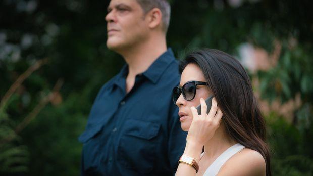 Joan (Lucy Liu) hält sich zwar im Hintergrund, hat aber alle Fäden in der Han...