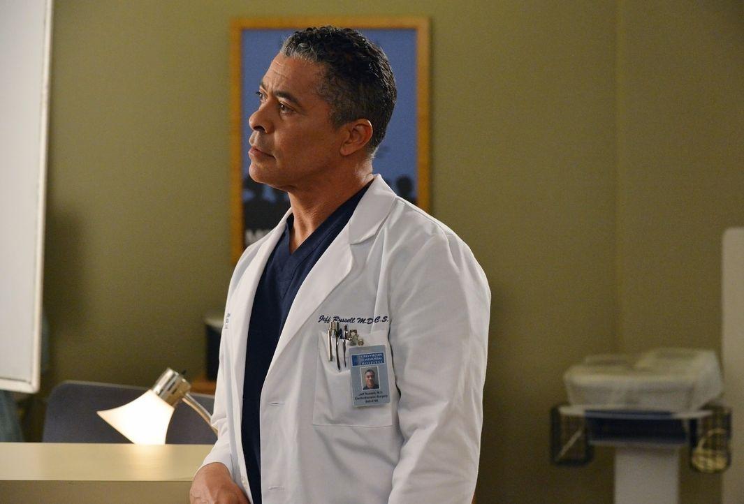 Dr. Russells (Dominic Hoffman) Etat soll enorm gekürzt werden ... - Bildquelle: ABC Studios