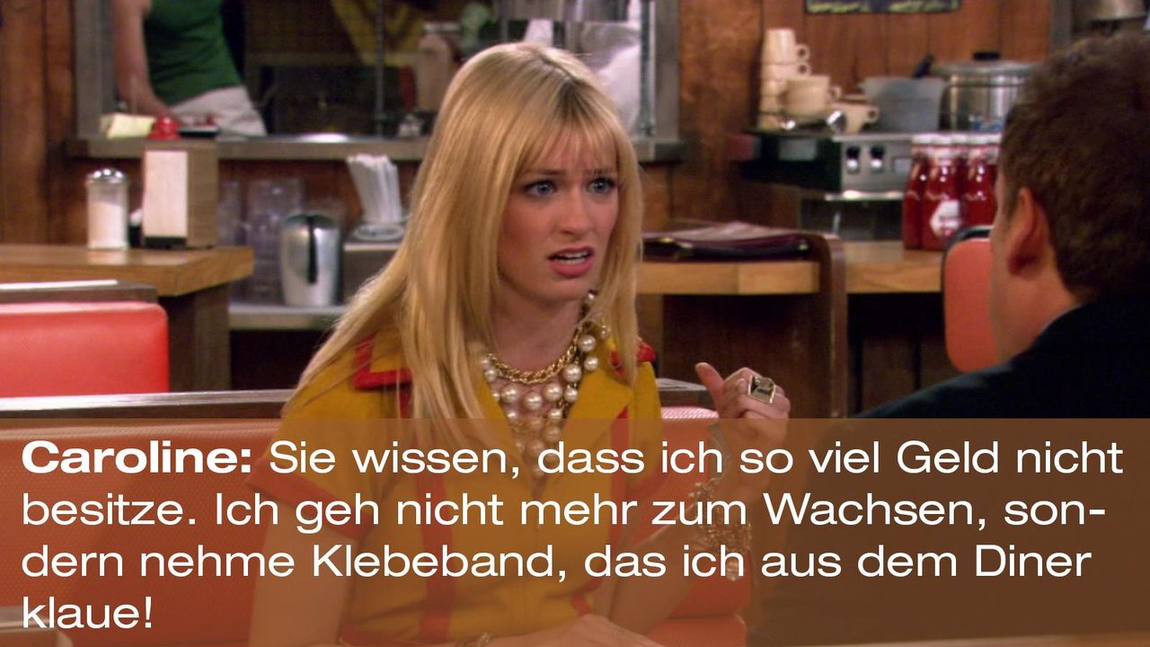 2-broke-girls-zitat-staffel1-episode-20-nebenwirkungen-caroline-wachsen-warnerpng 1600 x 900 - Bildquelle: Warner Brothers Entertainment Inc.