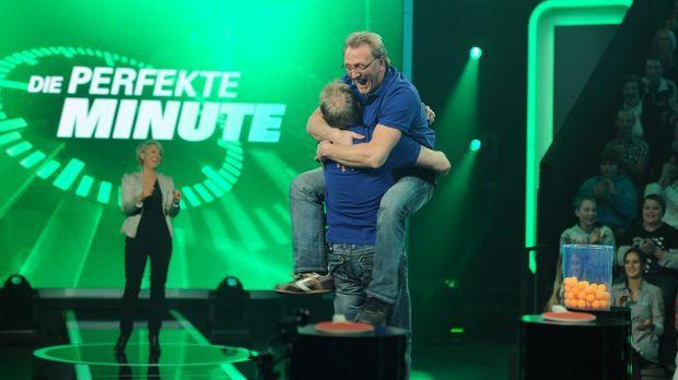 Ulla Kock am Brink (l.) und ihre Kandidaten Wolfgang und Roland Bodechtel ......