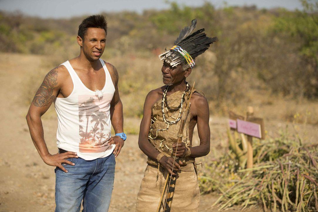 Moderator Daniel Aminati (l.) ist gespannt, wer die Queen of the Queens wird ... - Bildquelle: Guido Ohlenbostel ProSieben