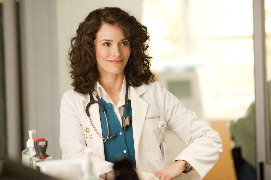 Sorgt sich nicht nur um das Wohl ihrer Patienten: Dr. Erin Jameson (Abigail Spencer)... - Bildquelle: Sony 2009 CPT Holdings, Inc. All Rights Reserved