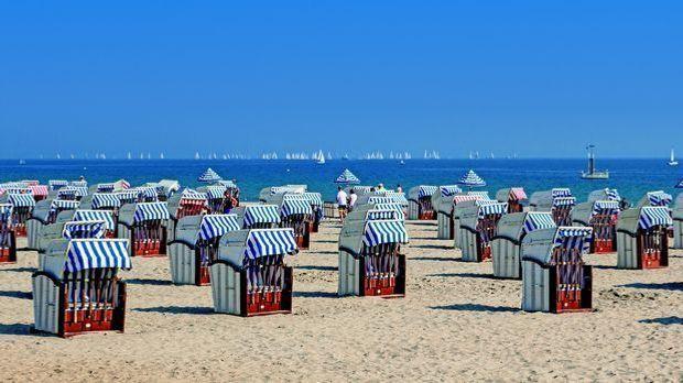Ostsee Strand, Deutschland