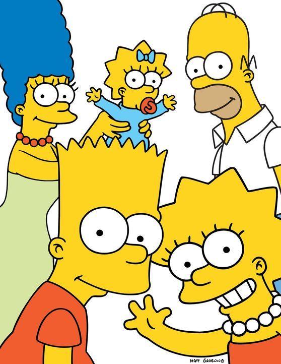 (19. Staffel) - Gemeinsam ist die Familie Simpsons unschlagbar: (vl.n.r.) Marge, Bart, Maggie, Lisa und Homer ... - Bildquelle: und TM Twentieth Century Fox Film Corporation - Alle Rechte vorbehalten