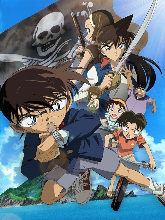 Detektiv Conan: Die azurblaue Flagge - Artwork - Bildquelle: 2003 GOSHO AOYAMA / SHOGAKUKAN-YTV-NTV-ShoPro-TOHO-TMS All Rights Reserved.