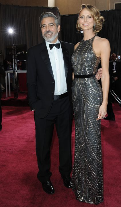 George-Clooney-Stacy-Keibler-2013-02-24-AFP - Bildquelle: AFP