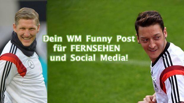 Sendet uns eure Funny Posts zur WM und wir veröffentlichen sie im Fernsehen!