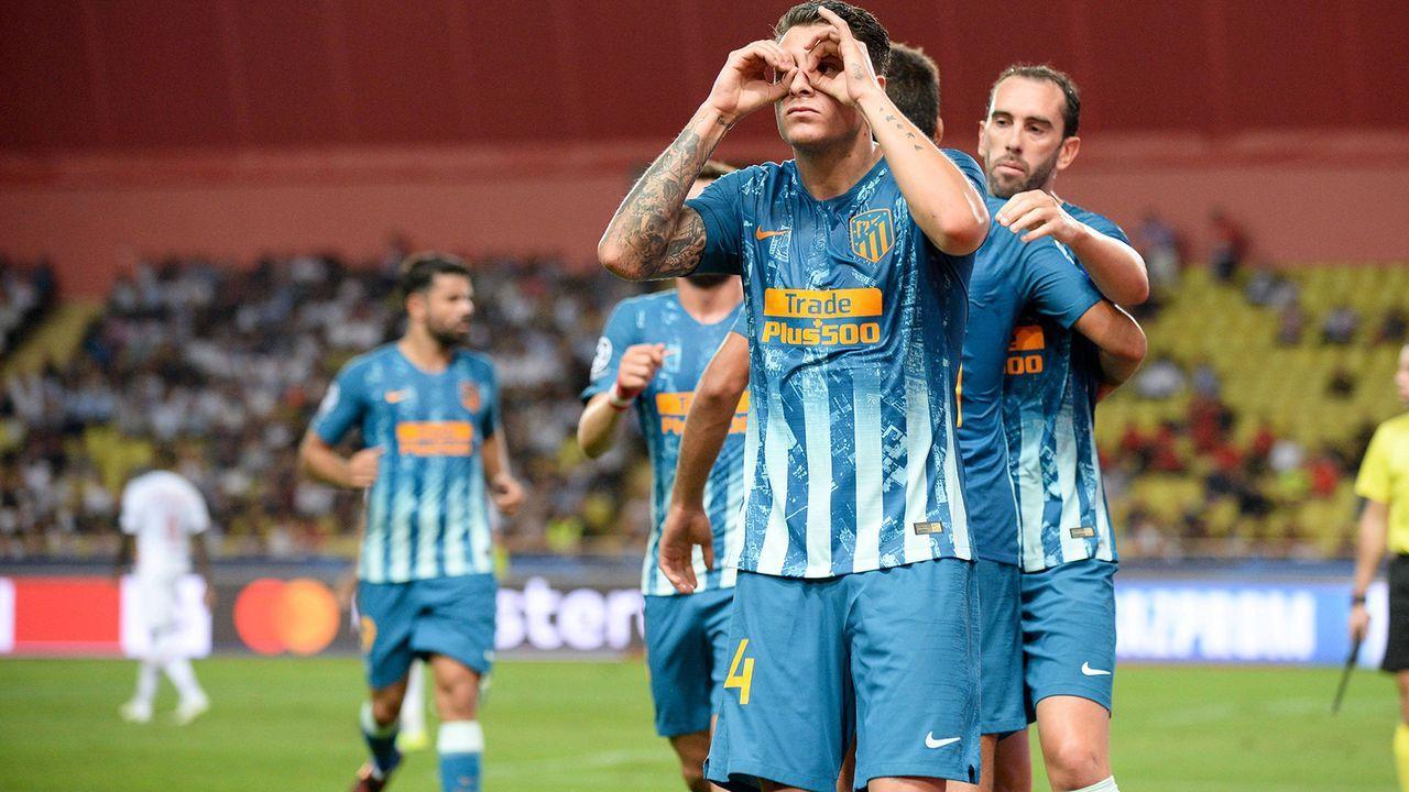 Platz 7: Atletico Madrid - Bildquelle: imago/PanoramiC