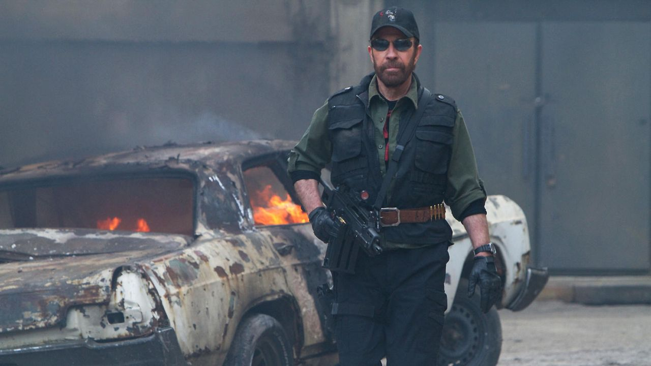 "Chuck Norris in ""The Expendables"" - Bildquelle: Twentieth Century Fox"
