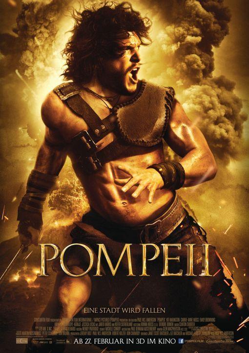 POMPEII - Plakat - Bildquelle: 2014 Constantin Film Verleih GmbH/ Caitlin Cronenberg