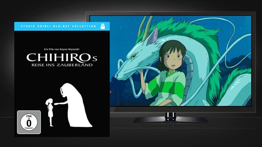 Chihiros Reise ins Zauberland (Blu-ray Disc) - Bildquelle: Universum Film Home Entertainment