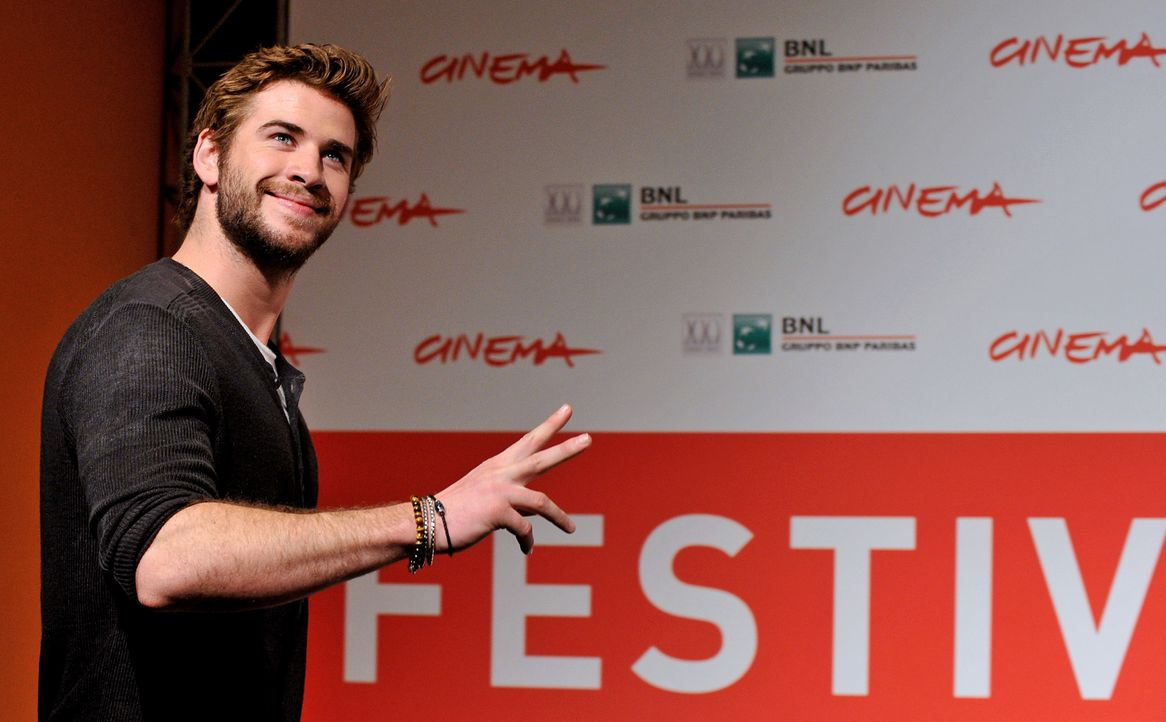 Liam-Hemsworth-Catching-Fire-Premiere-Rom-13-11-14-AFP - Bildquelle: AFP ImageForum