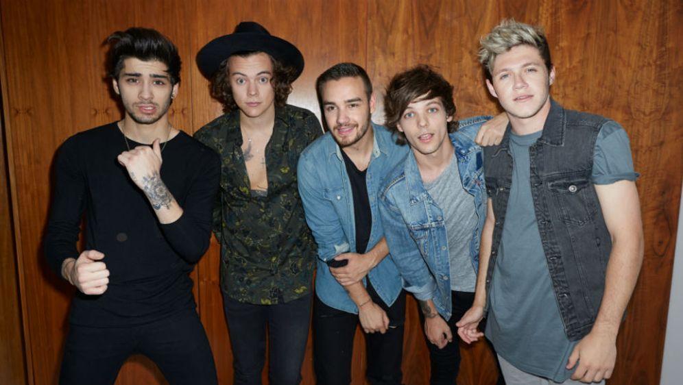 Die sweeten Jungs mit ihrer neuen Single - Bildquelle: Sony Music