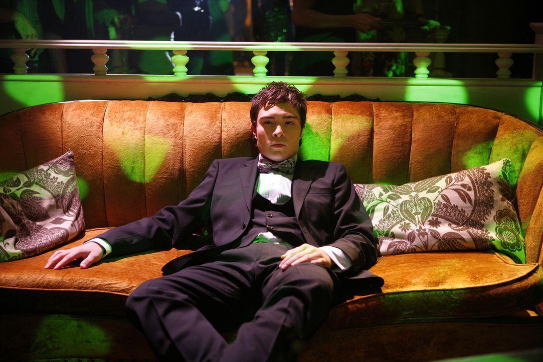 Chuck (Ed Westwick) will mit einer neuen Geschäftsidee seinem Vater zeigen, dass er mehr kann, als nur Partys feiern und sich mit Frauen zu amüsiere... - Bildquelle: Warner Brothers