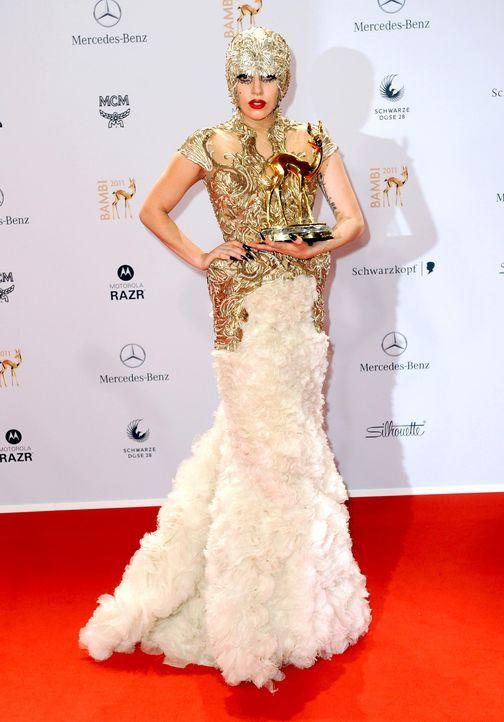2011-Lady-Gaga-dpa - Bildquelle: dpa