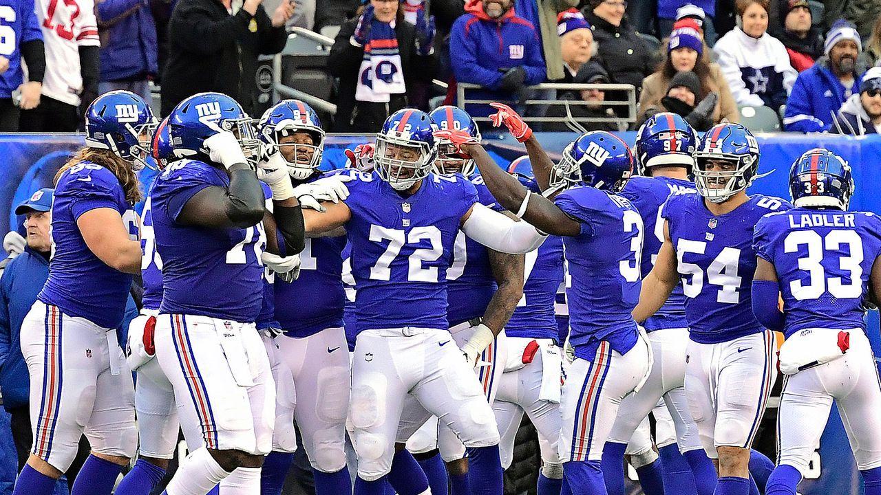 Draft Pick 17: New York Giants (durch Trade mit Cleveland Browns) - Bildquelle: 2018 Getty Images
