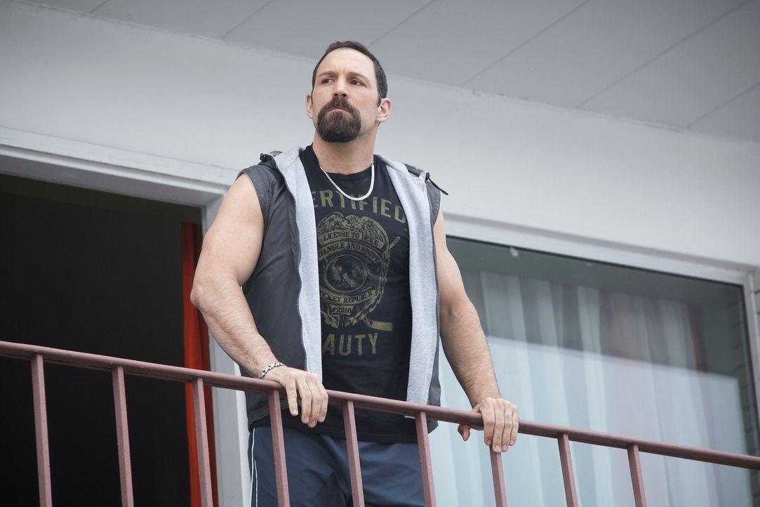 Zachary Cain (Noah Danby) hasst das Rudel abgrundtief, doch was plant er wirklich? - Bildquelle: 2014 She-Wolf Season 1 Productions Inc.