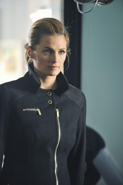 Die Leiche eines Bäckers liegt kopfüber in einer riesigen Rührschüssel mit Schokoladenteig. Für Kate Beckett (Stana Katic) steht bald fest, das... - Bildquelle: ABC Studios